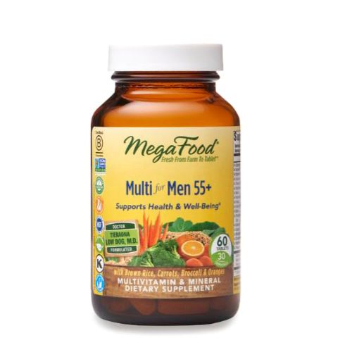 Multi for Men 55+ 60 Tabs by MegaFood