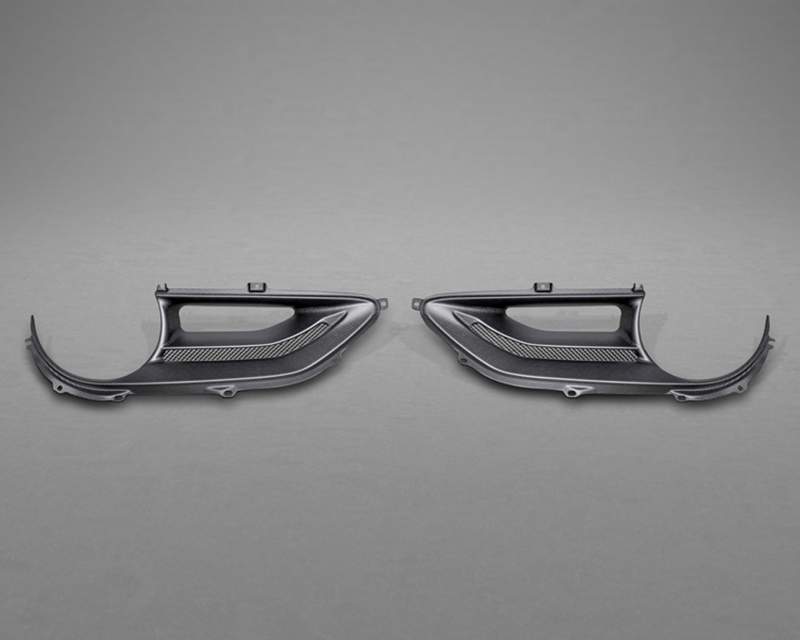 Capristo Carbon Taillight Covers Gloss Finish Ferrari 488 GTB 15-20