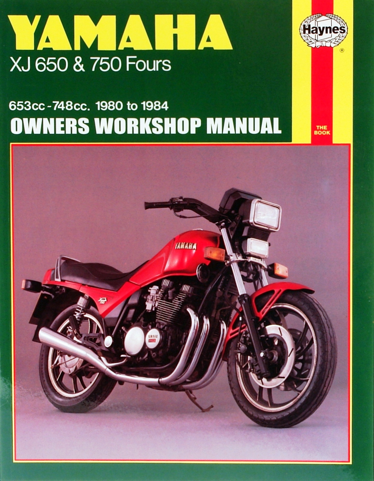 Yamaha XJ650 and 750 (80-84) Haynes Repair Manual