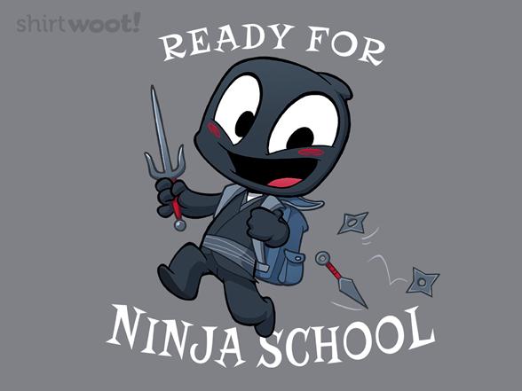 Ninja School T Shirt