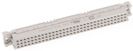 HARTING 96 Way 2.54mm Pitch, Type C Class C2, 3 Row, Straight DIN 41612 Connector, Socket