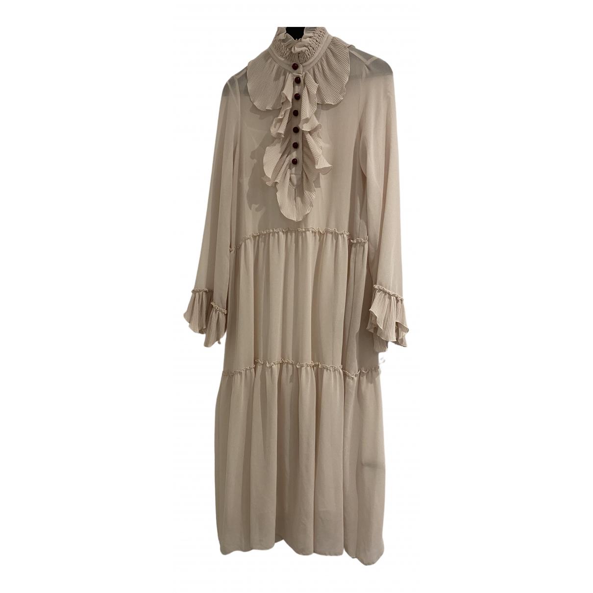 See By Chloé \N Beige Silk dress for Women 42 IT