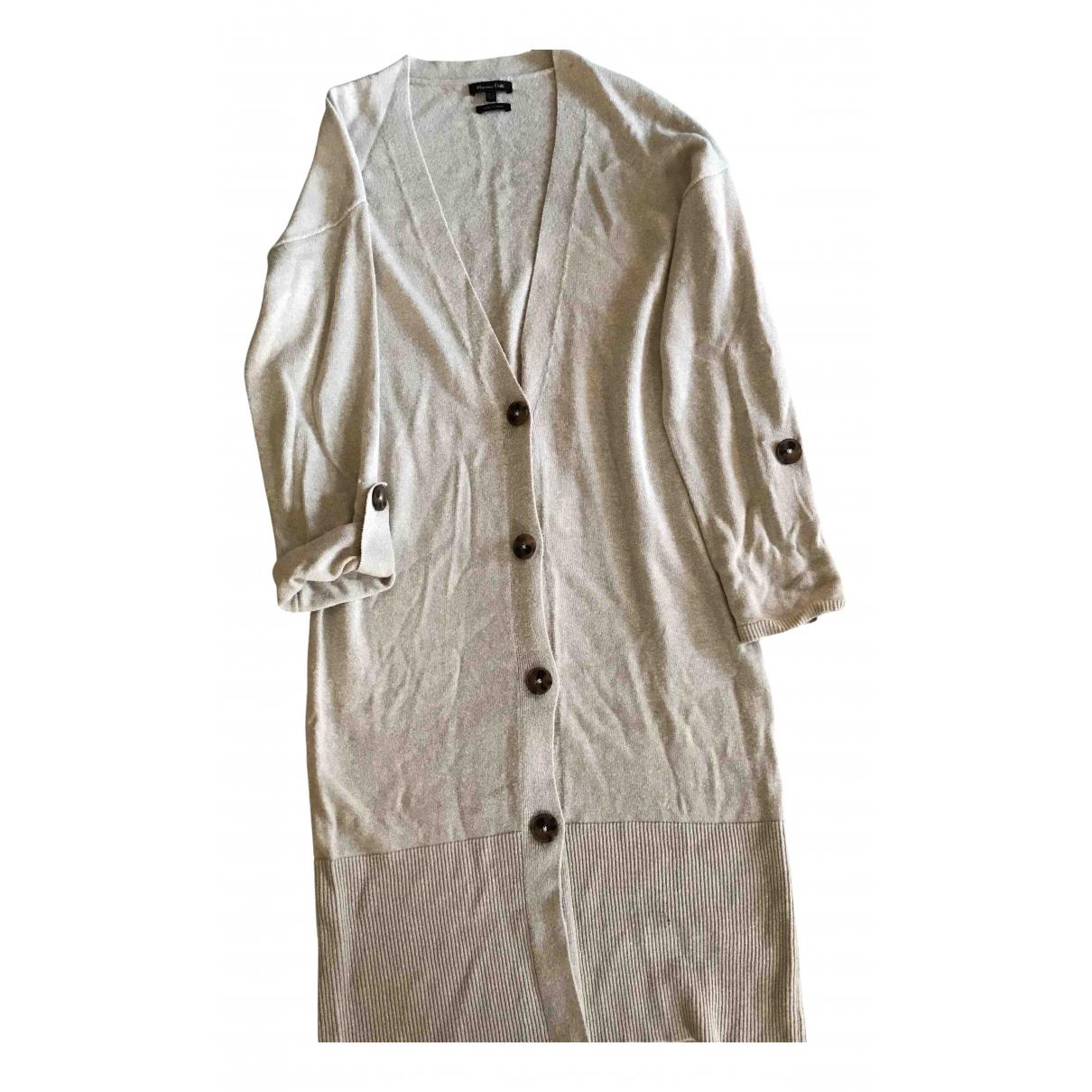 Massimo Dutti - Pull   pour femme - beige