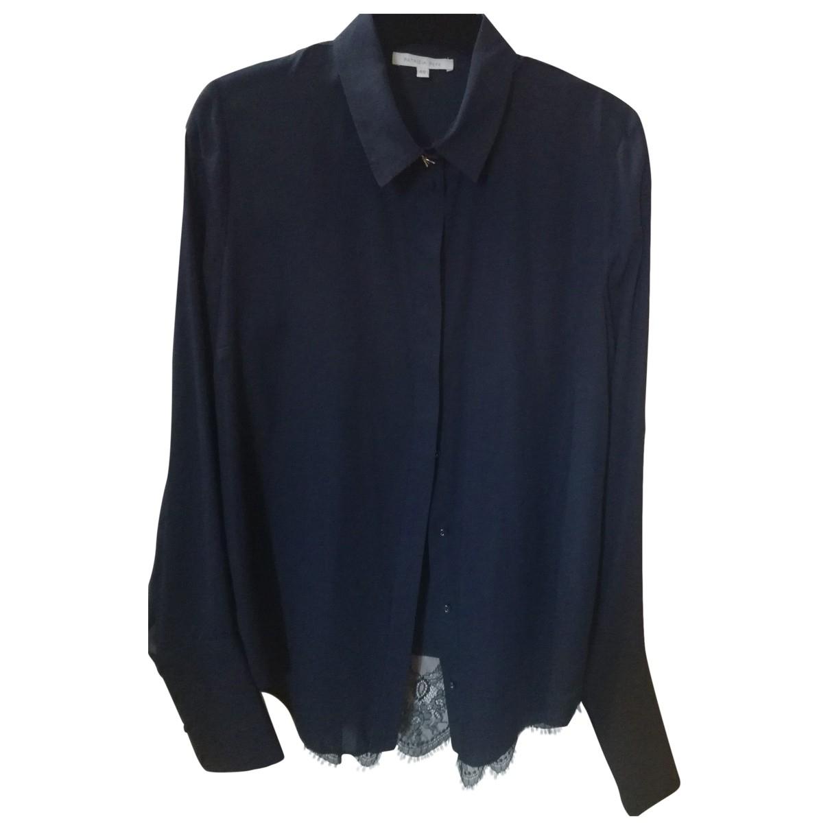 Patrizia Pepe \N Top in  Blau Polyester