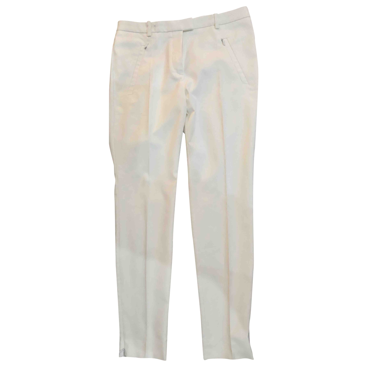 Pantalon en Poliester Blanco Boss