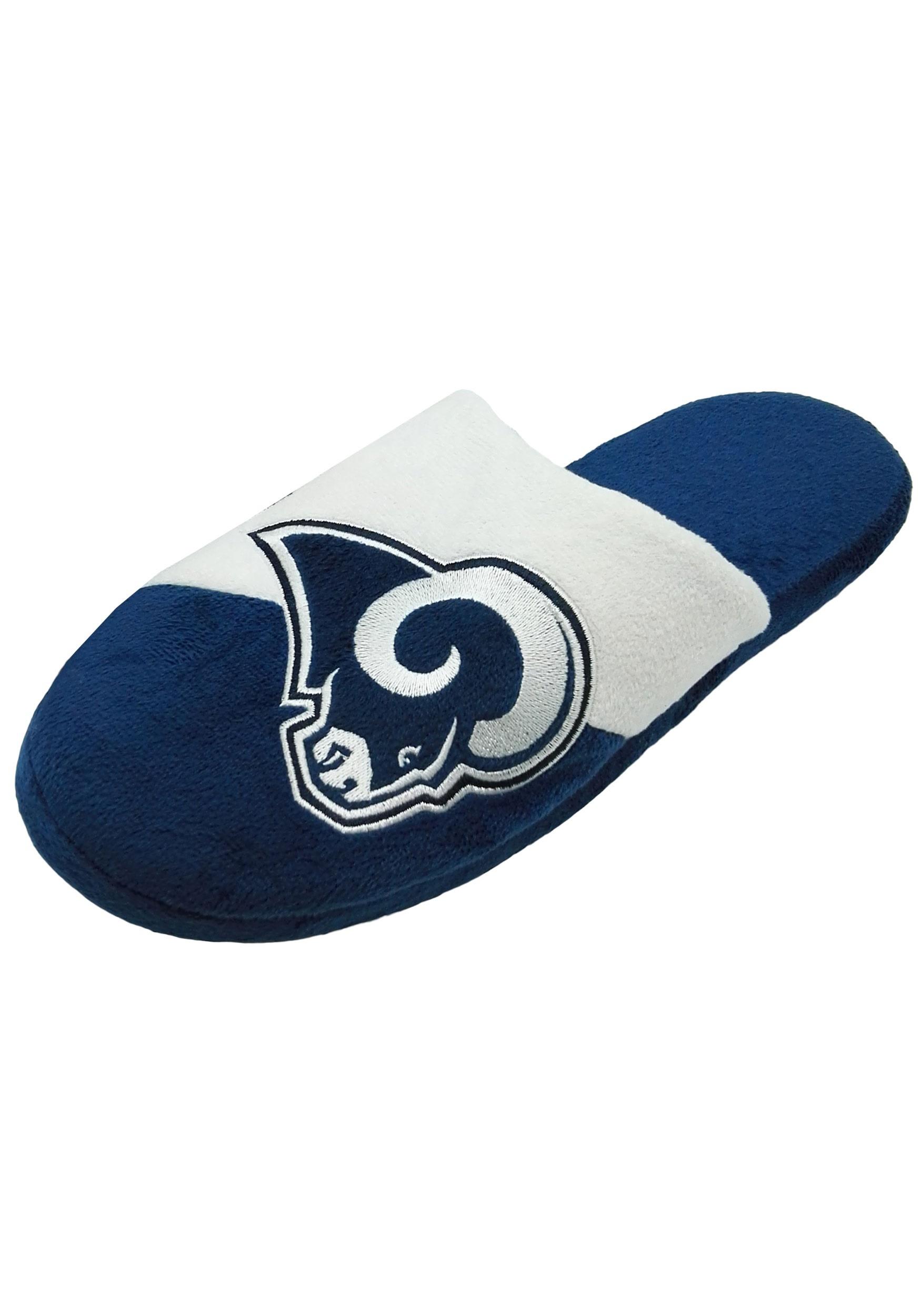 Los Angeles Rams Colorblock Slide Slippers