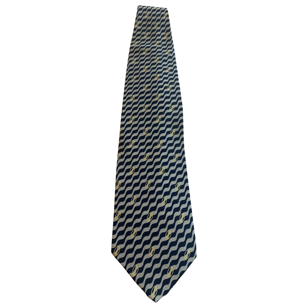 Giorgio Armani \N Blue Silk Ties for Men \N