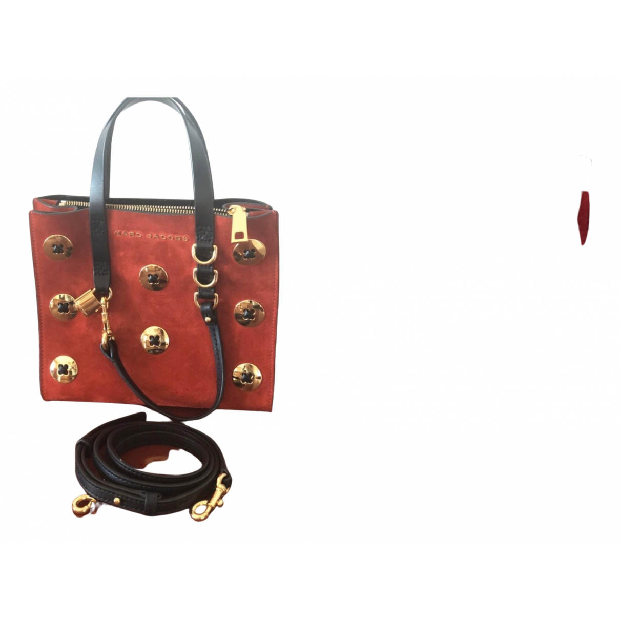 Marc Jacobs \N Handtasche in  Rot Denim - Jeans