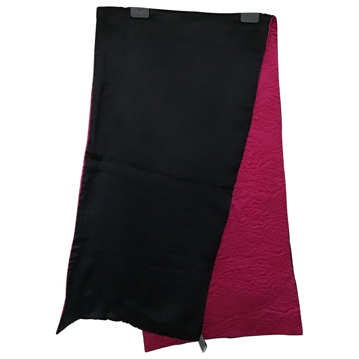 Yves Saint Laurent - Foulard   pour femme en soie - rose