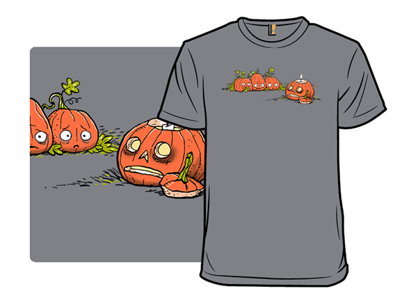 Ghoulish Gourd T Shirt