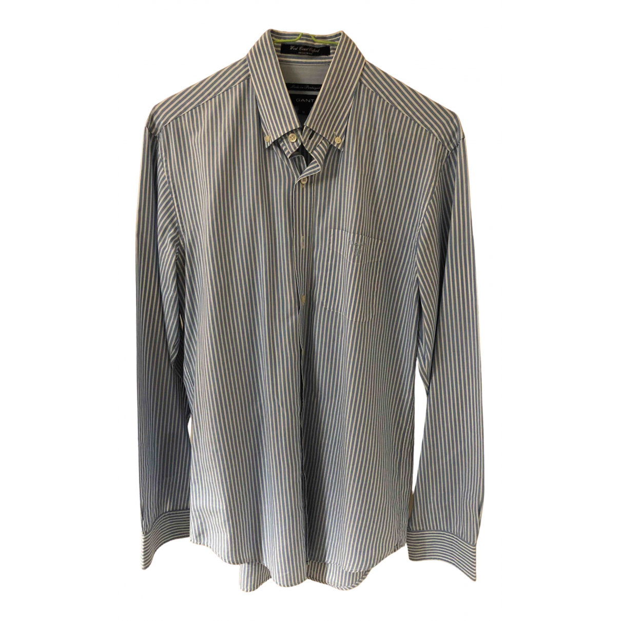 Gant \N Blue Cotton Shirts for Men M International