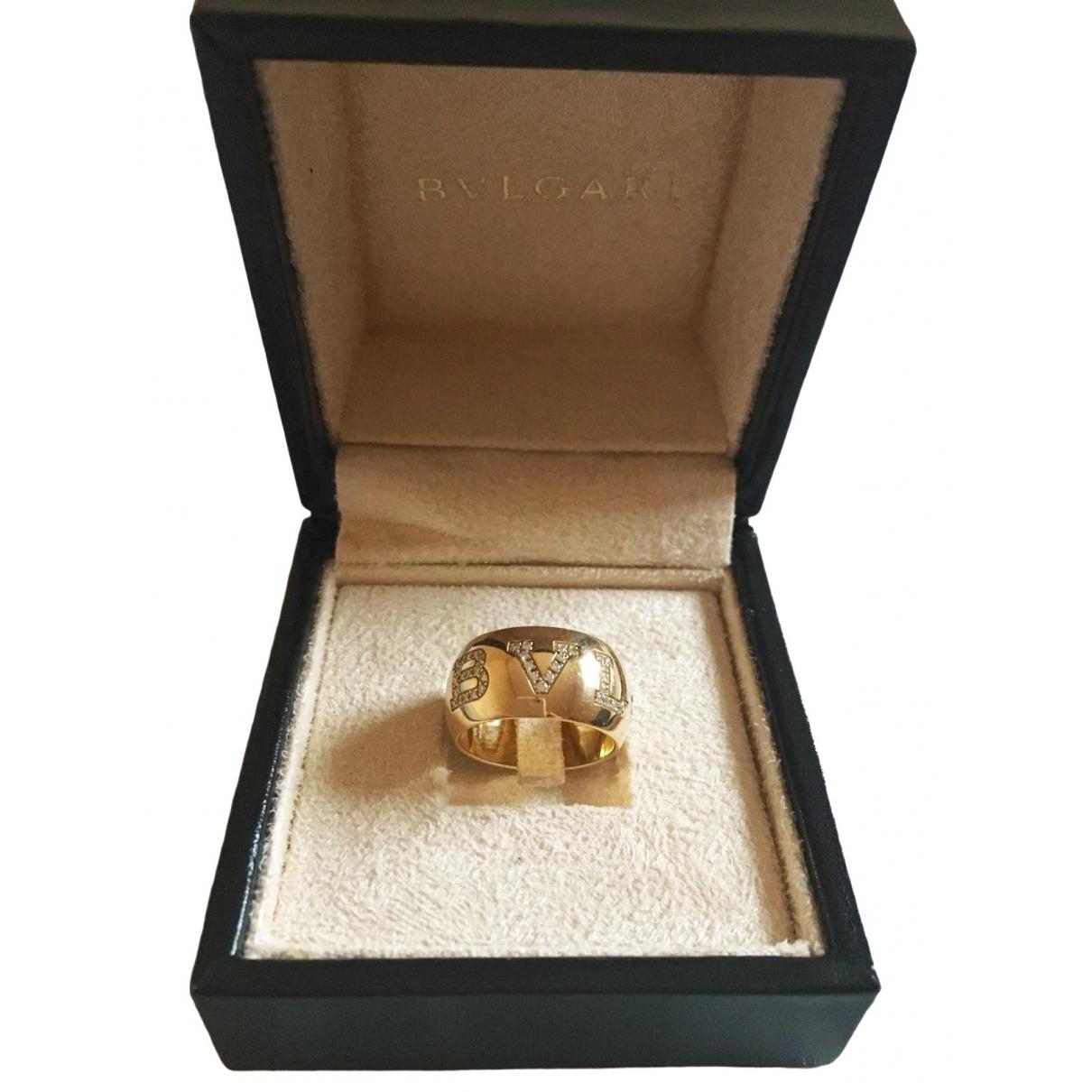Bvlgari - Bague Bulgari Bulgari pour femme en or jaune - dore