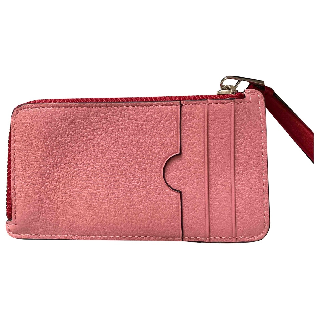 Loewe \N Pink Leather Purses, wallet & cases for Women \N