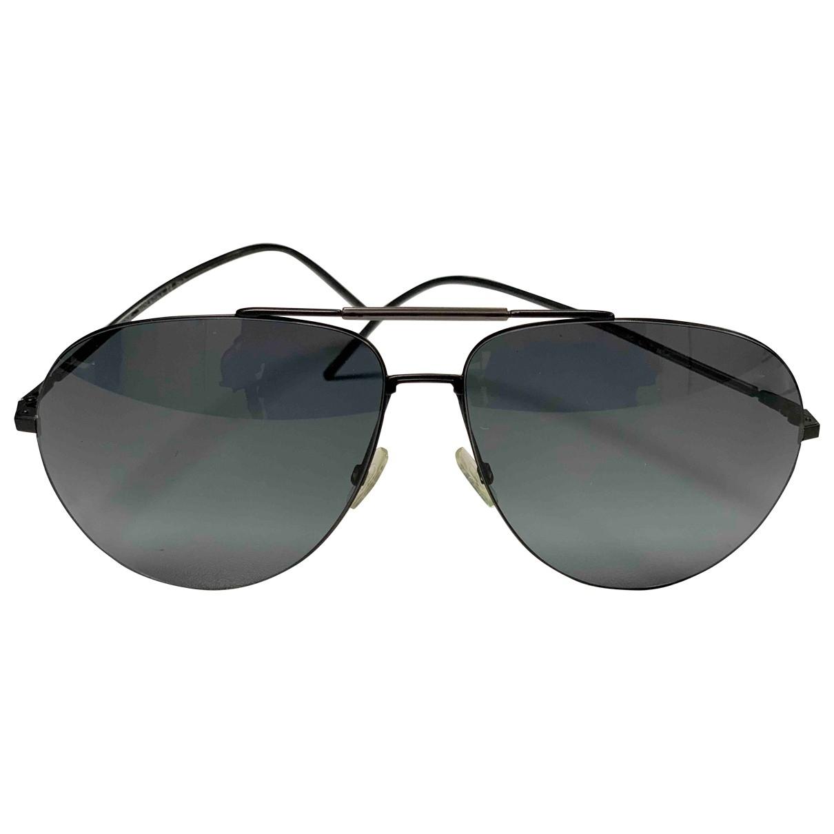 Dior Homme \N Sonnenbrillen in  Anthrazit Metall
