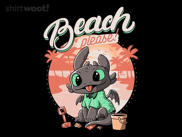 Summer Dragon T Shirt
