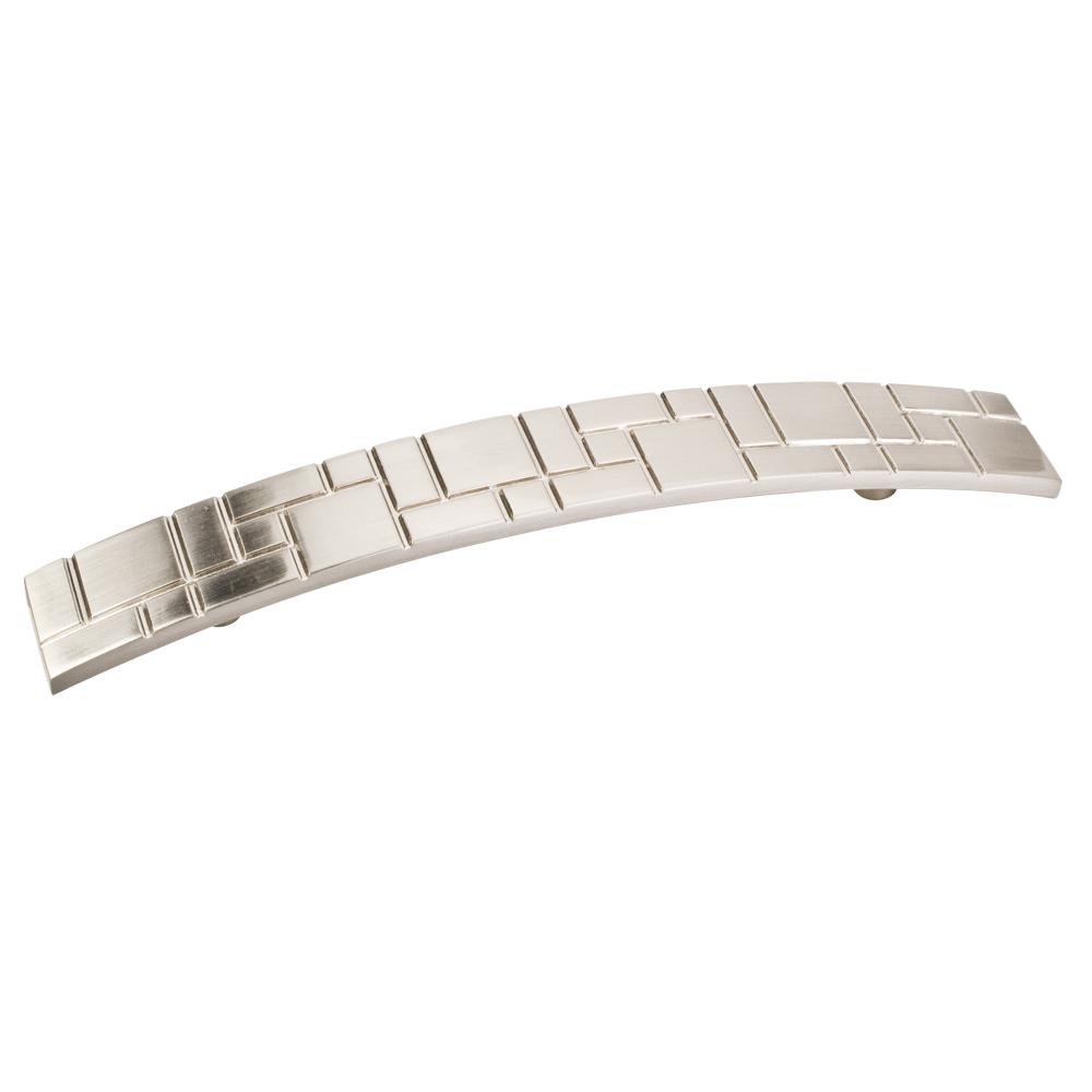 Breighton Pull, 128 mm C/C, Satin Nickel