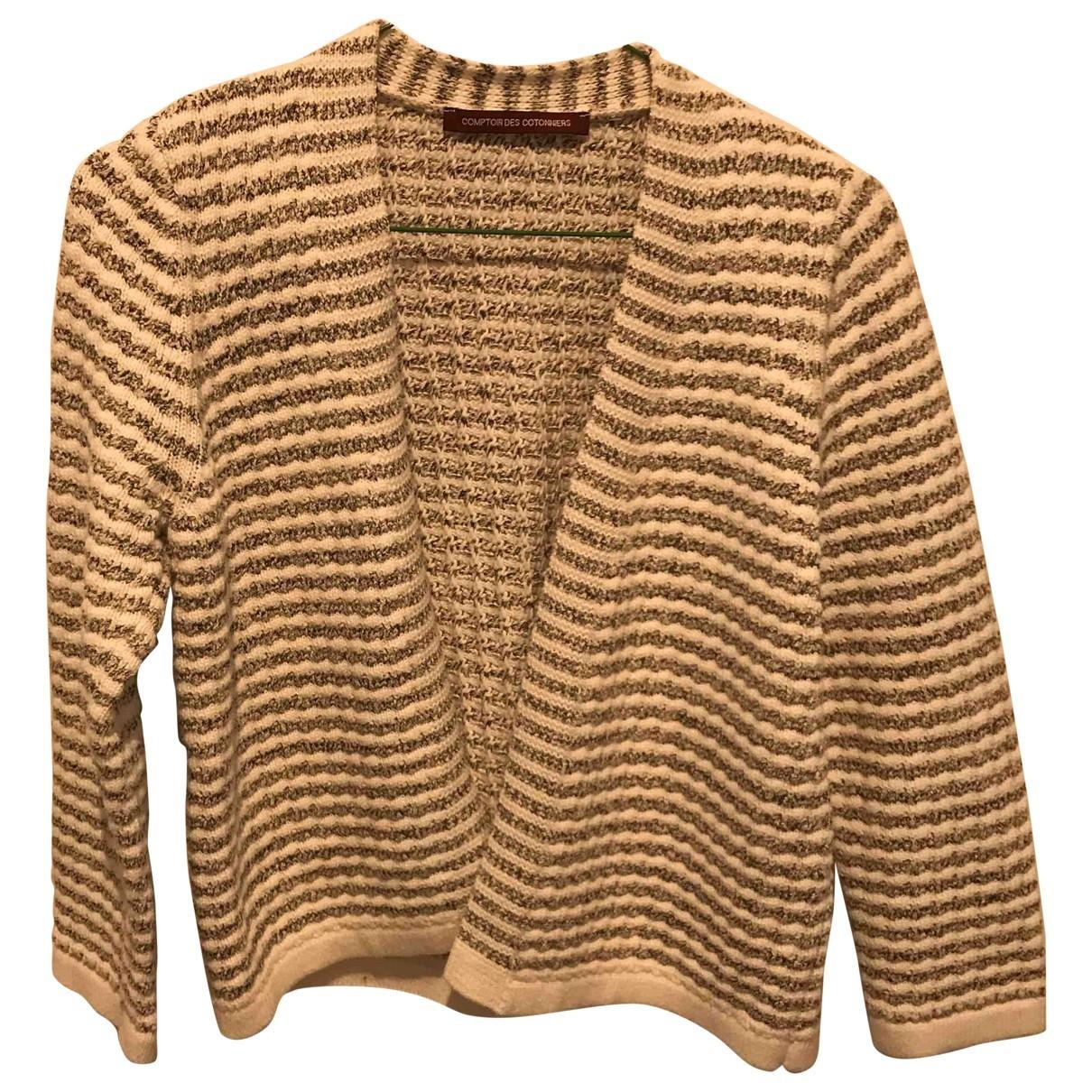 Comptoir Des Cotonniers \N Grey Cotton Knitwear for Women S International