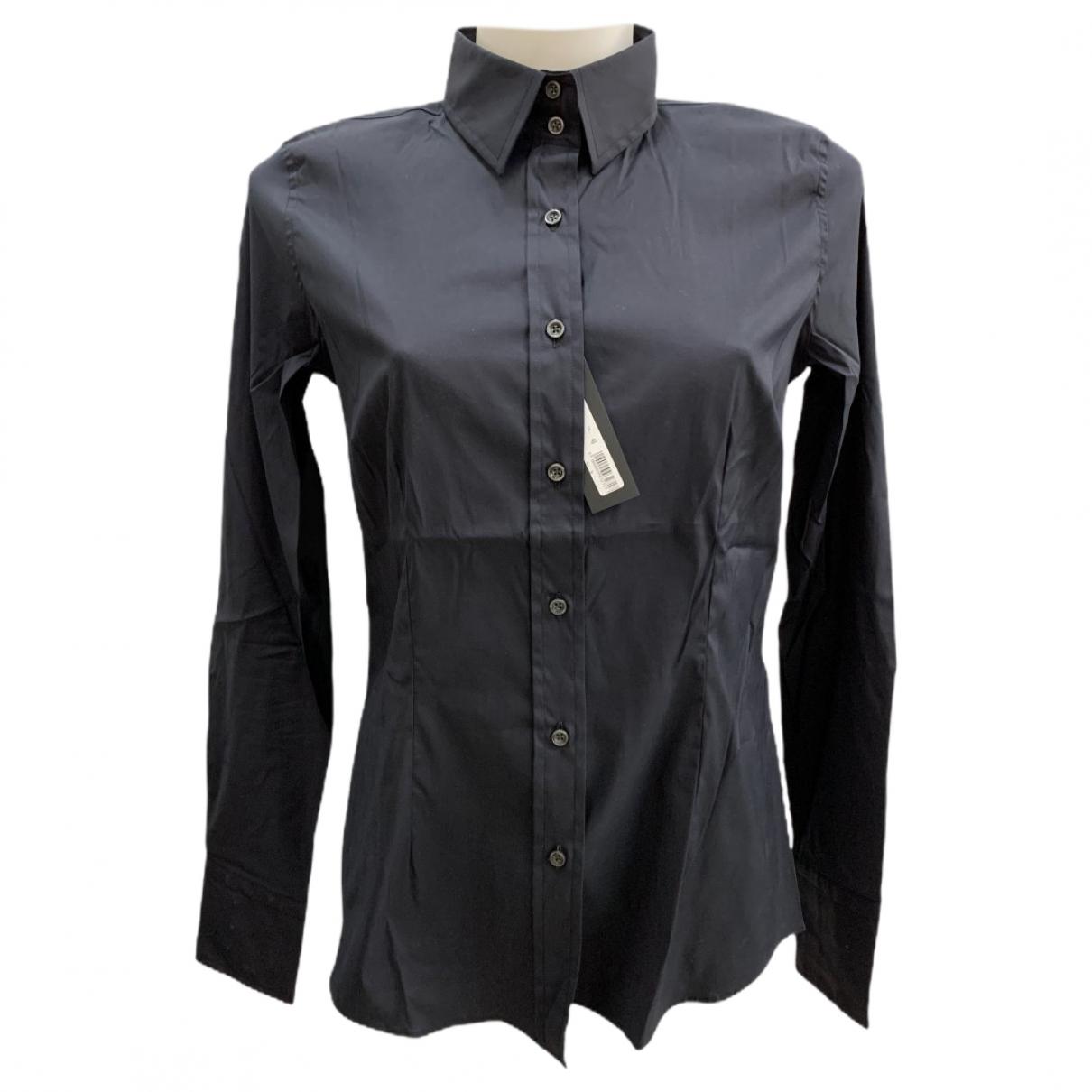 Mauro Grifoni - Top   pour femme en coton - noir
