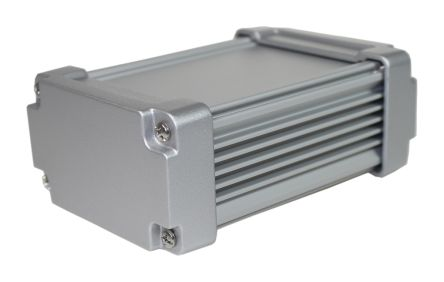 Takachi Electric Industrial AWN Silver Aluminium Heat Sink Case, 115 x 80.8 x 45.8mm