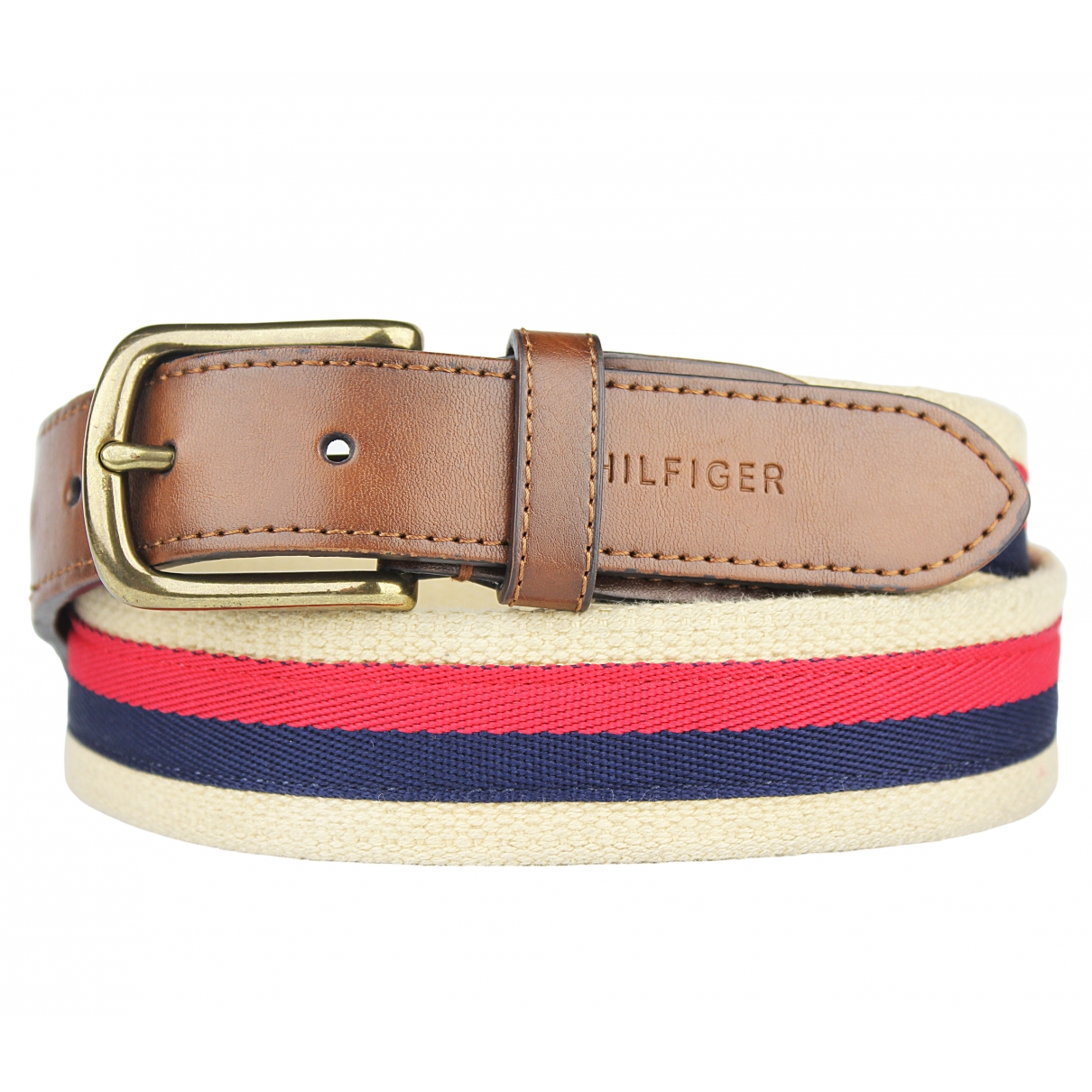 Tommy Hilfiger \N Brown Cotton belt for Women 85 cm