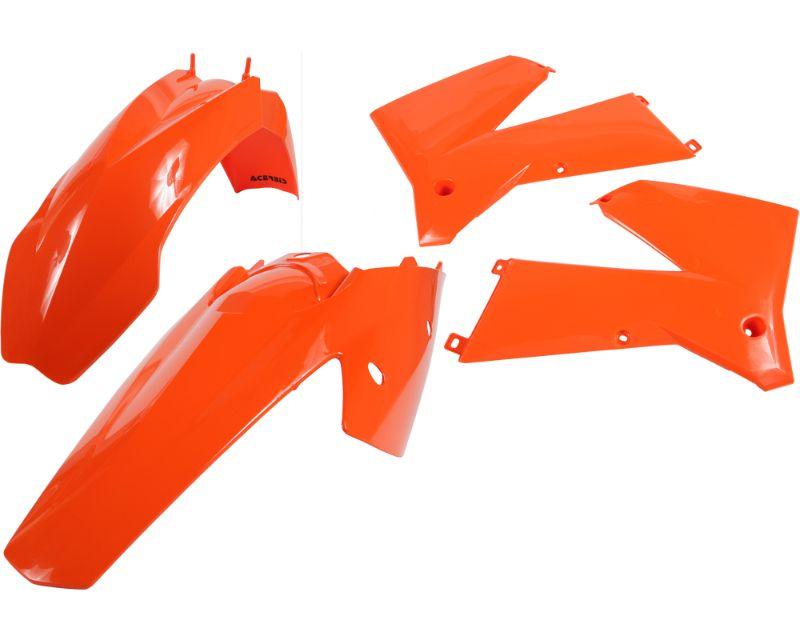 Acerbis 2041030206 Plastic Kit Orange KTM SX125 05-06