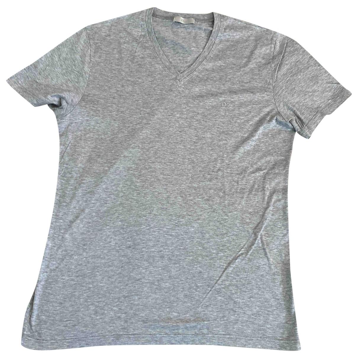 Dior Homme - Tee shirts   pour homme en coton - gris