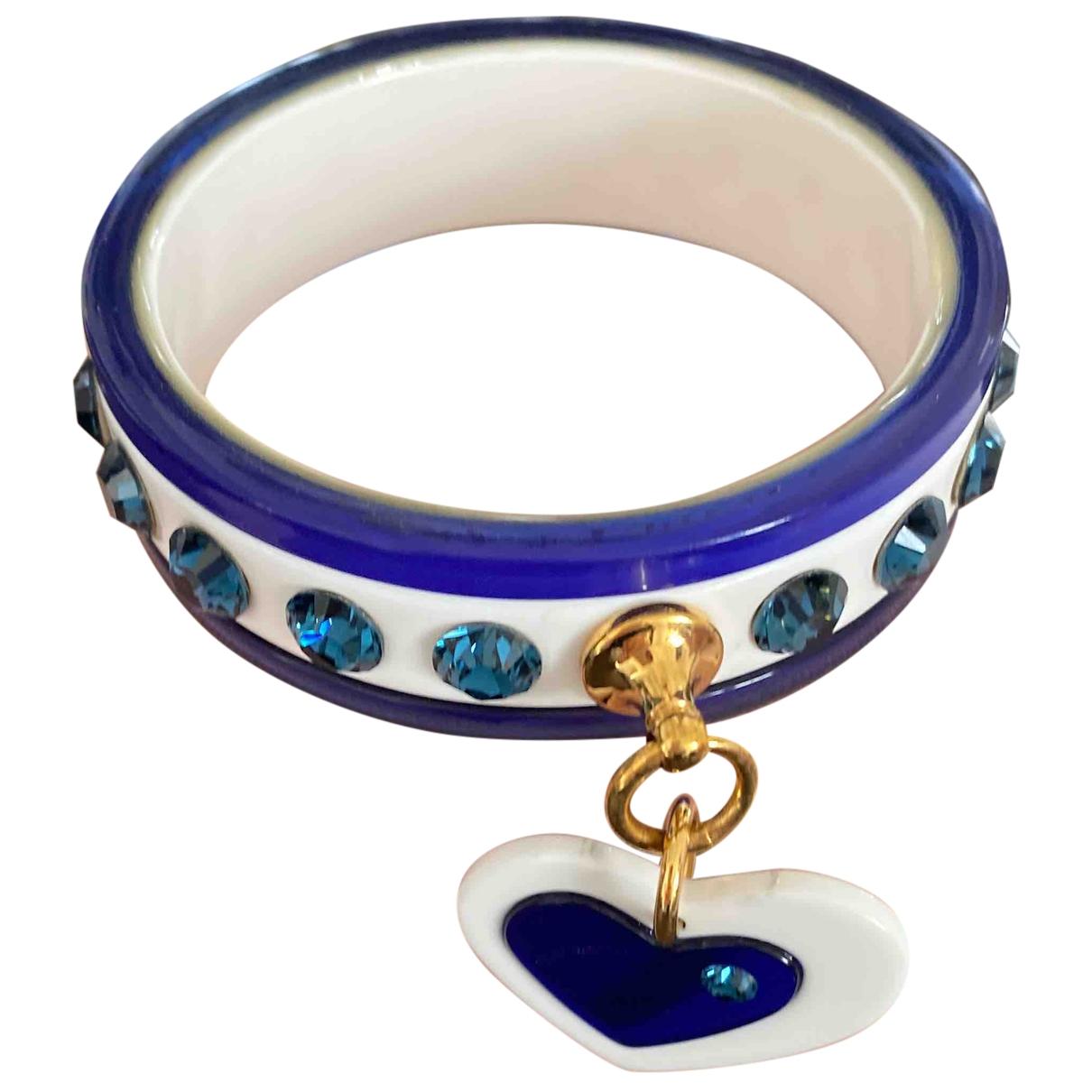 Miu Miu - Bracelet   pour femme - bleu