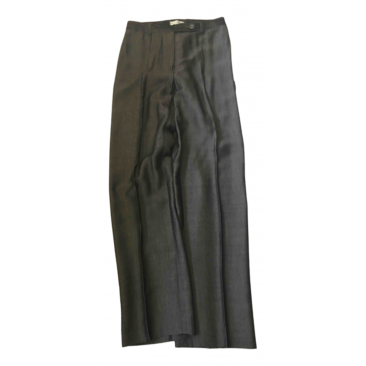 Gerard Darel N Anthracite Trousers for Women 36 FR