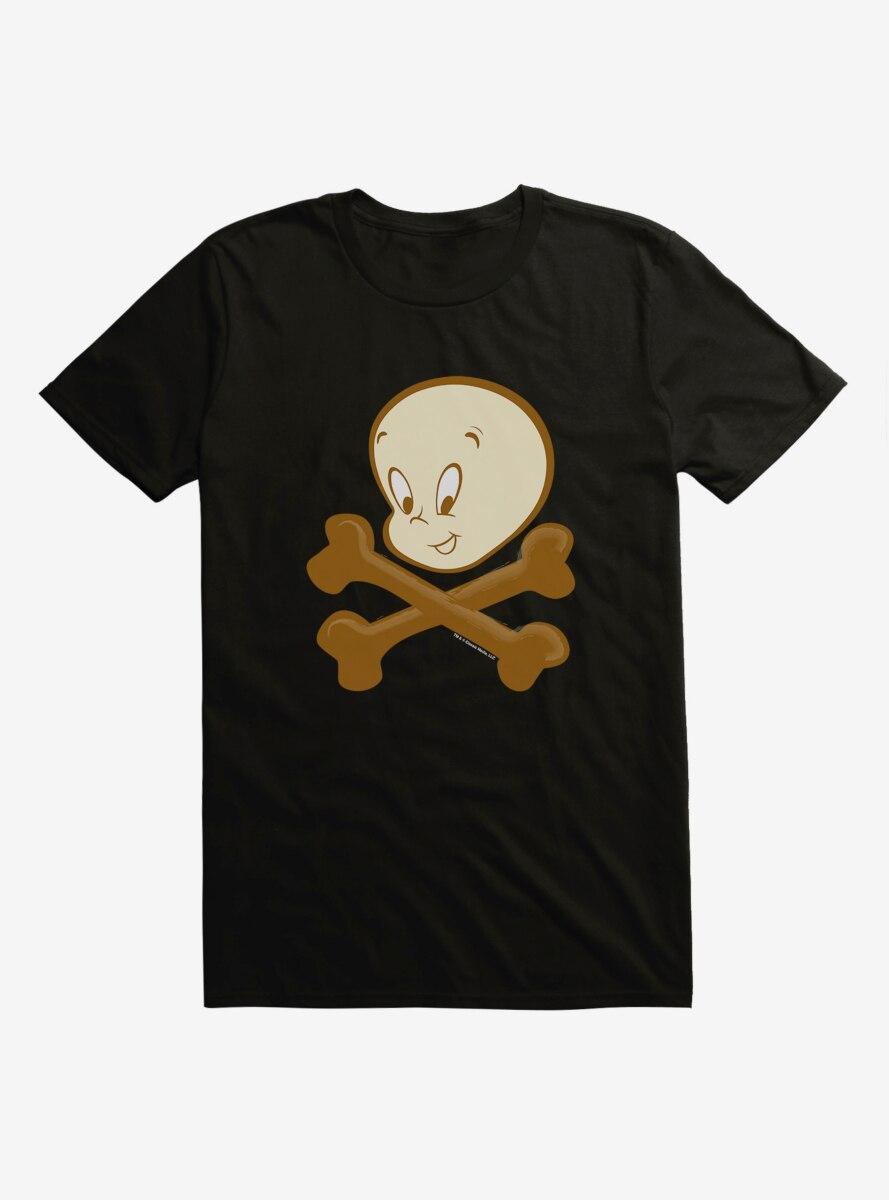 Casper The Friendly Ghost Cross Bones T-Shirt