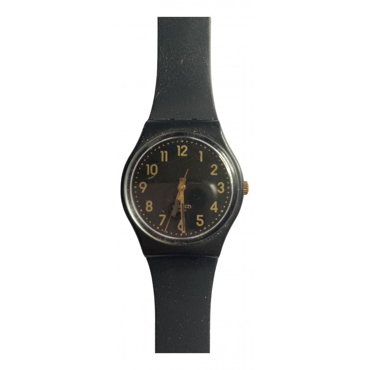 Swatch \N Uhr Schwarz