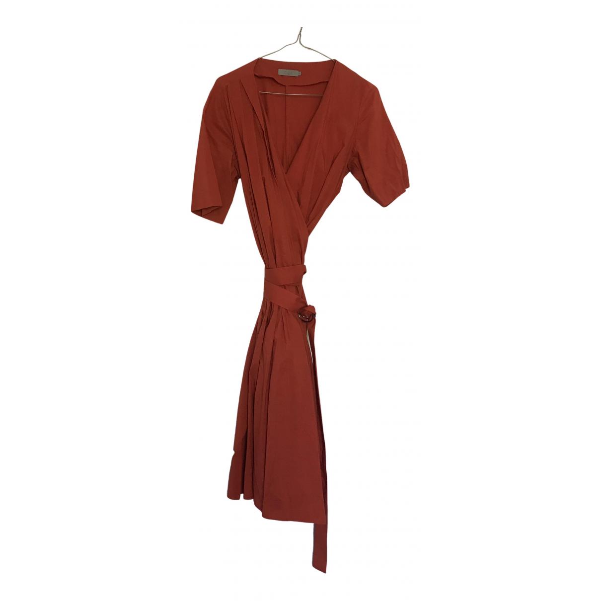 Cos \N Kleid in  Orange Baumwolle