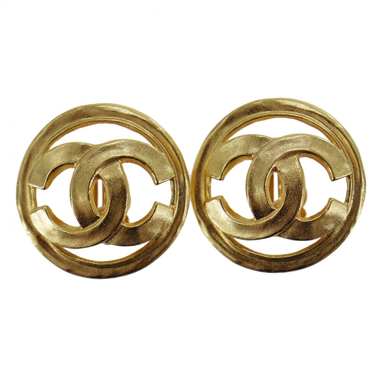 Chanel \N OhrRing in Vergoldet