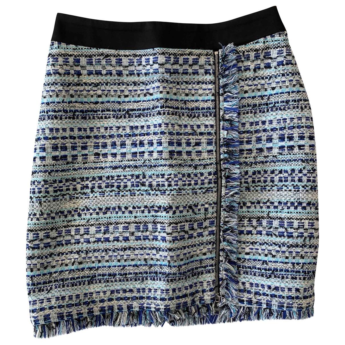 Karl Lagerfeld \N Blue Tweed skirt for Women 40 IT
