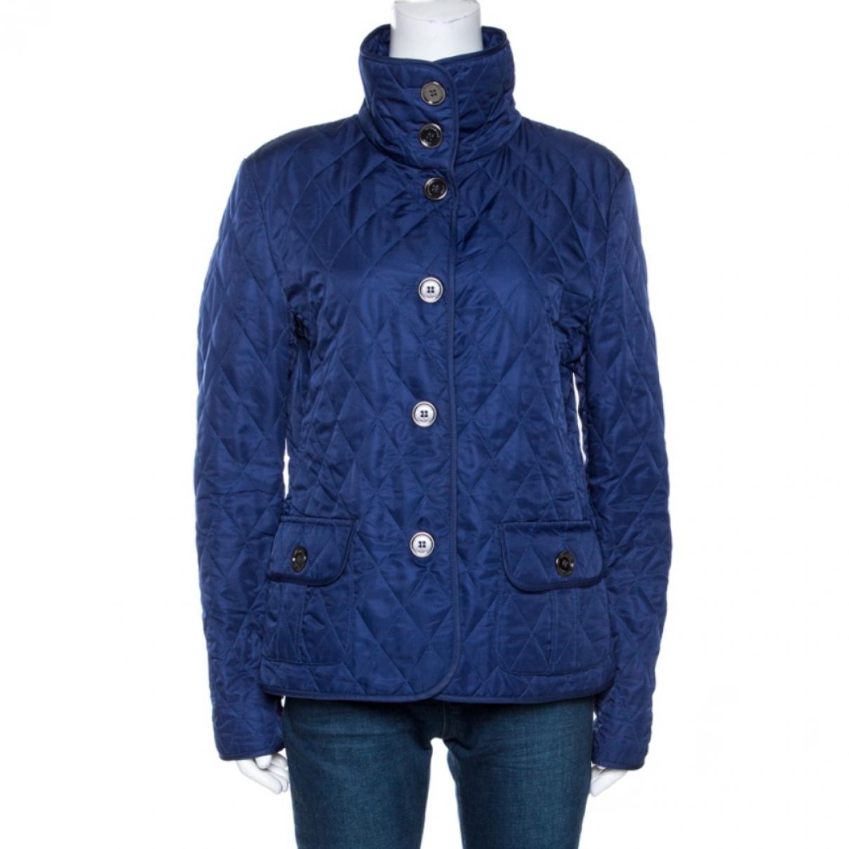 Burberry \N Jacke in  Blau Polyester