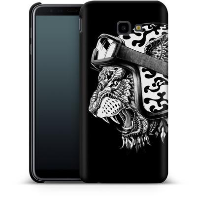 Samsung Galaxy J4 Plus Smartphone Huelle - Tiger Helm von BIOWORKZ