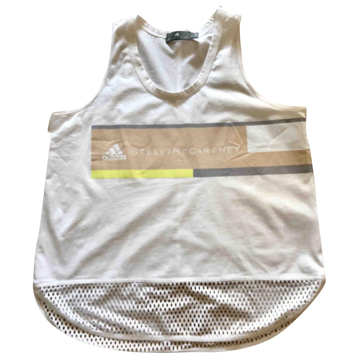 Stella Mccartney Pour Adidas \N White Cotton  top for Women L International