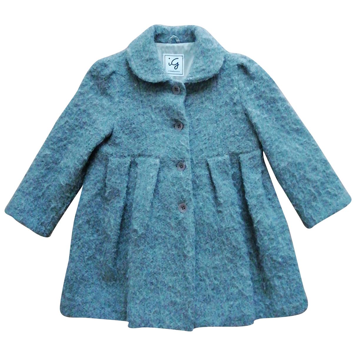 Non Signe / Unsigned \N Jacke, Maentel in  Grau Wolle
