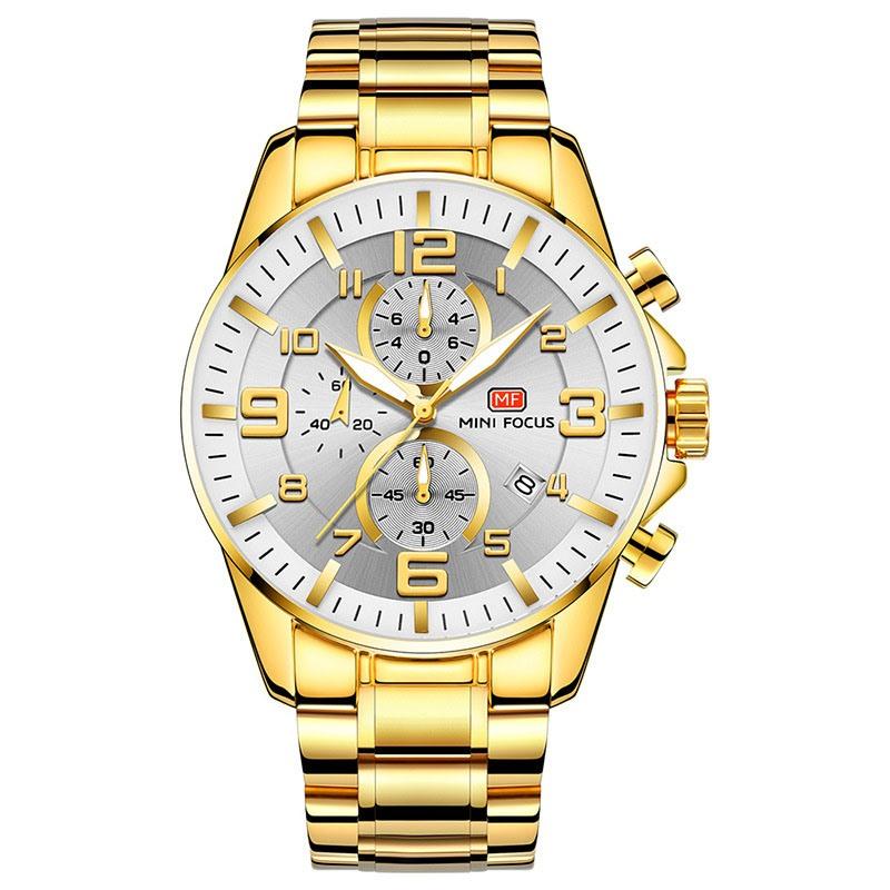 Ericdress Luxury Round Luminous Watch