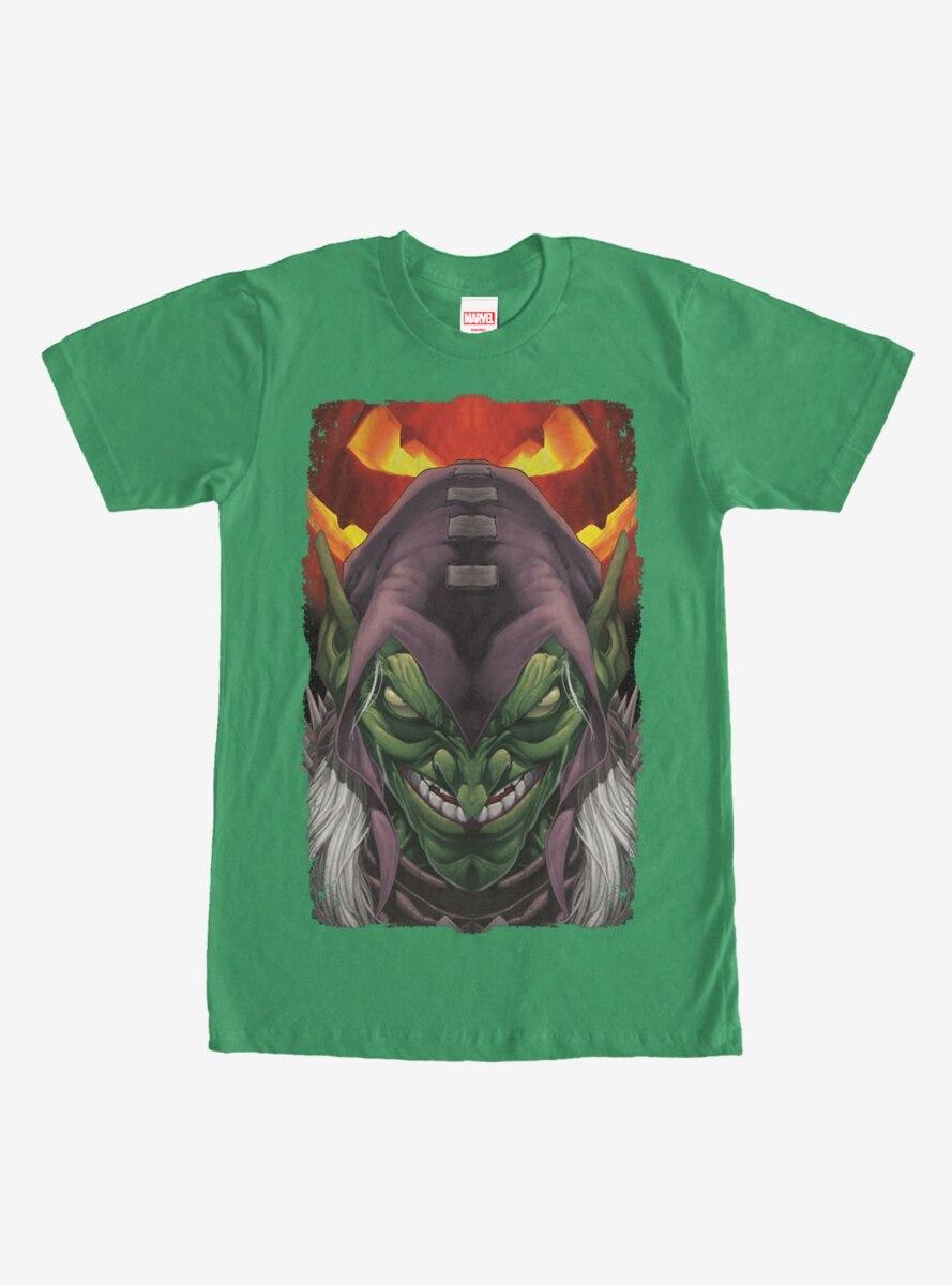 Marvel Green Goblin Pumpkin T-Shirt
