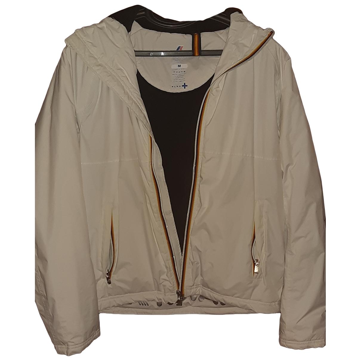 K-way \N White jacket for Women M International