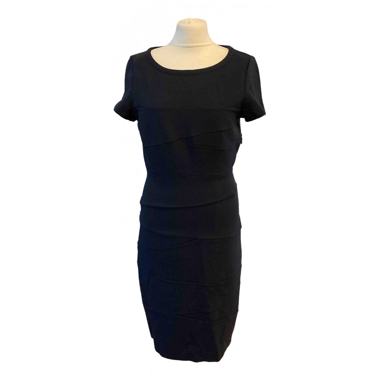 Diane Von Furstenberg \N Kleid in  Marine Baumwolle - Elasthan
