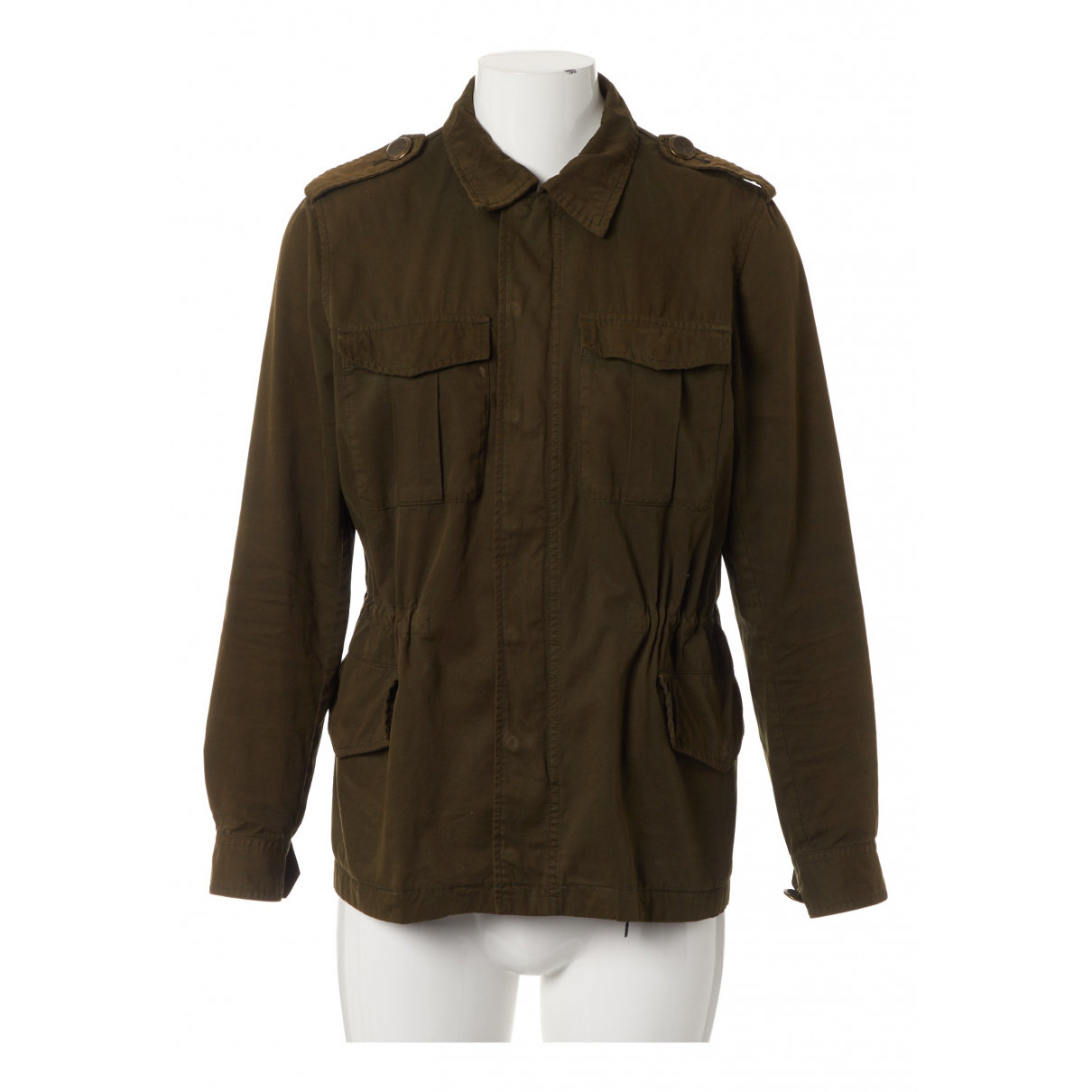 Zadig & Voltaire N Khaki Cotton jacket for Women M International