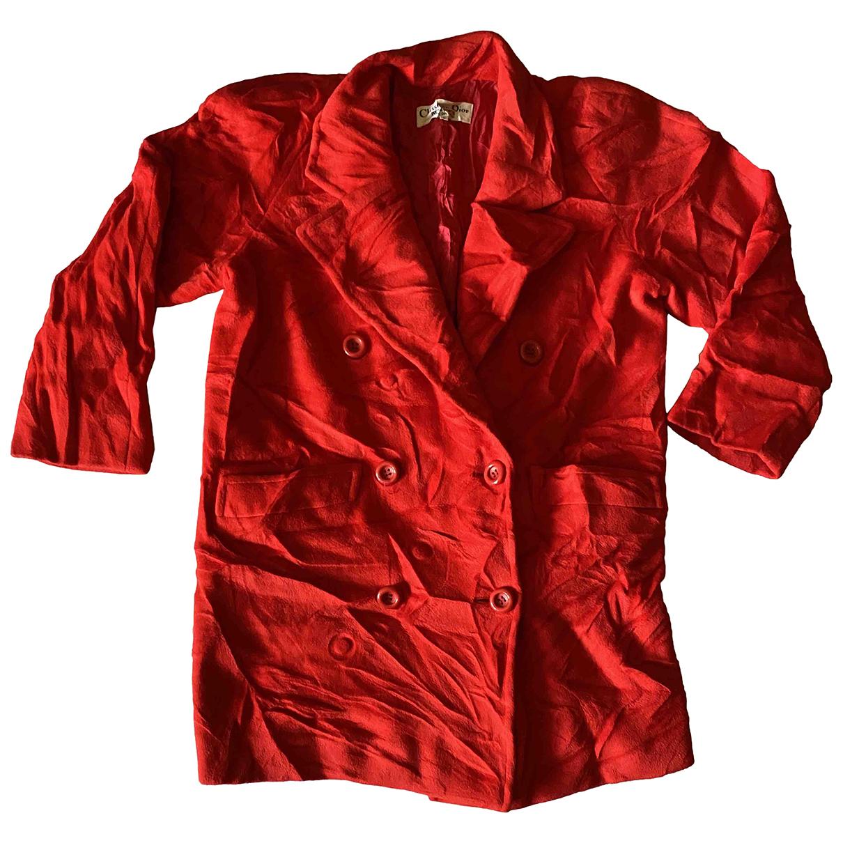 Dior \N Red Wool coat for Women L International