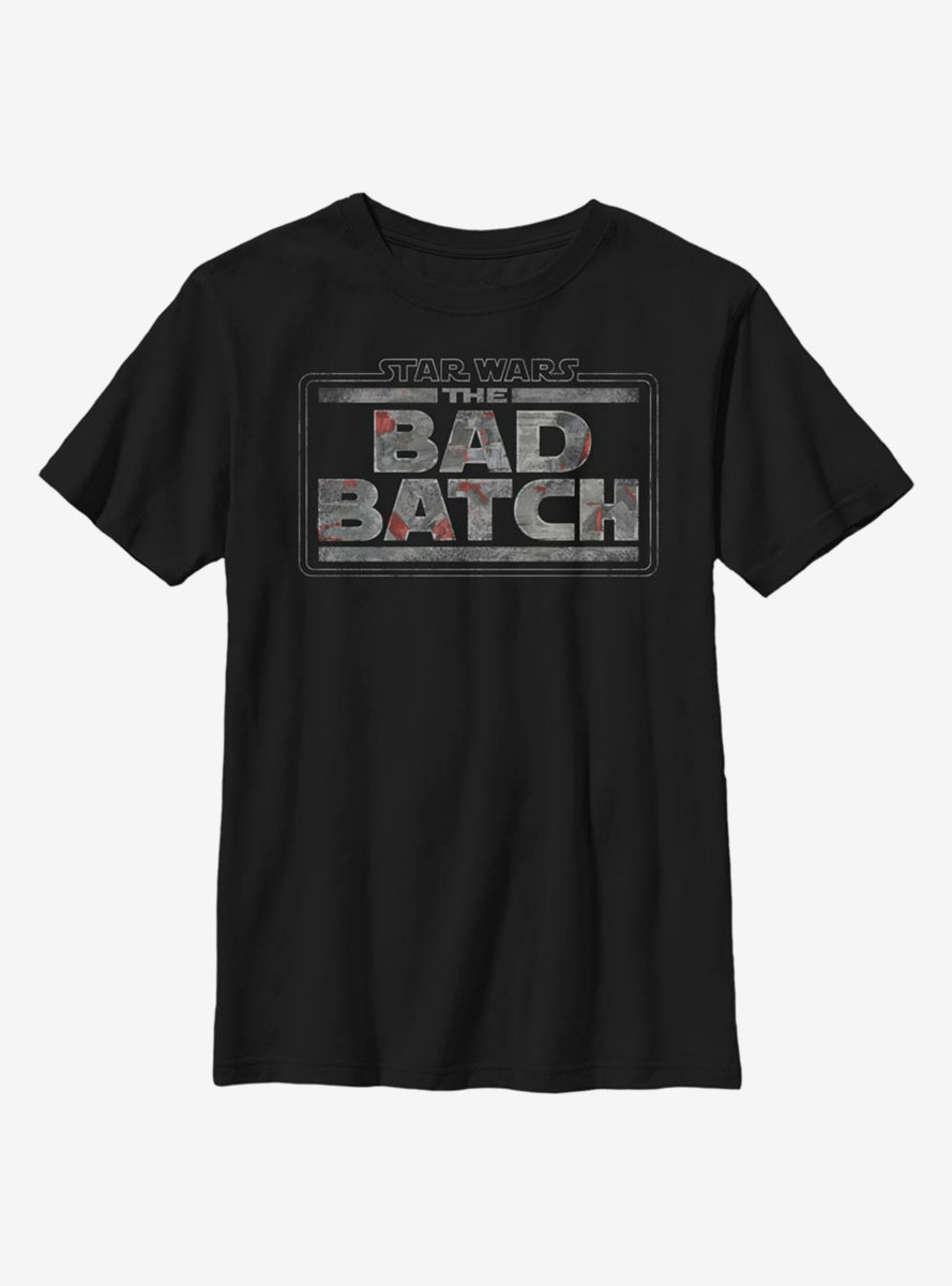 Star Wars The Bad Batch Logo Youth T-Shirt