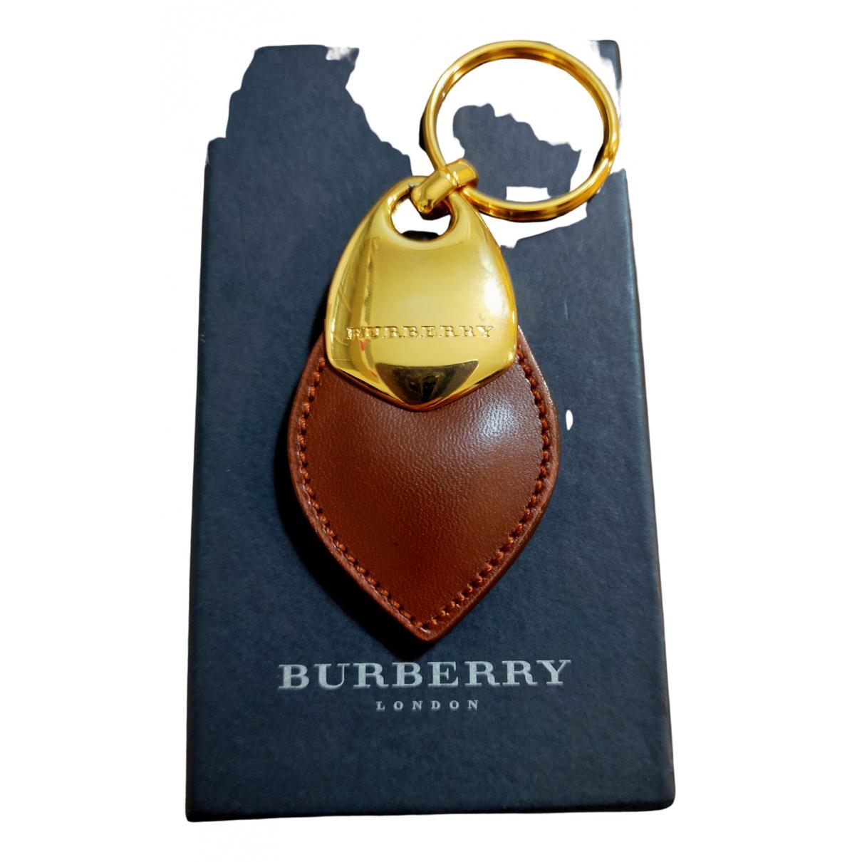 Llavero de Cuero Burberry