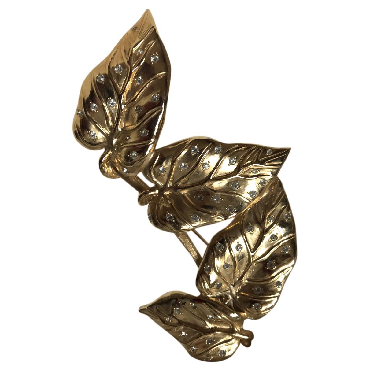 Valentino Garavani N Gold Metal Pins & brooches for Women N