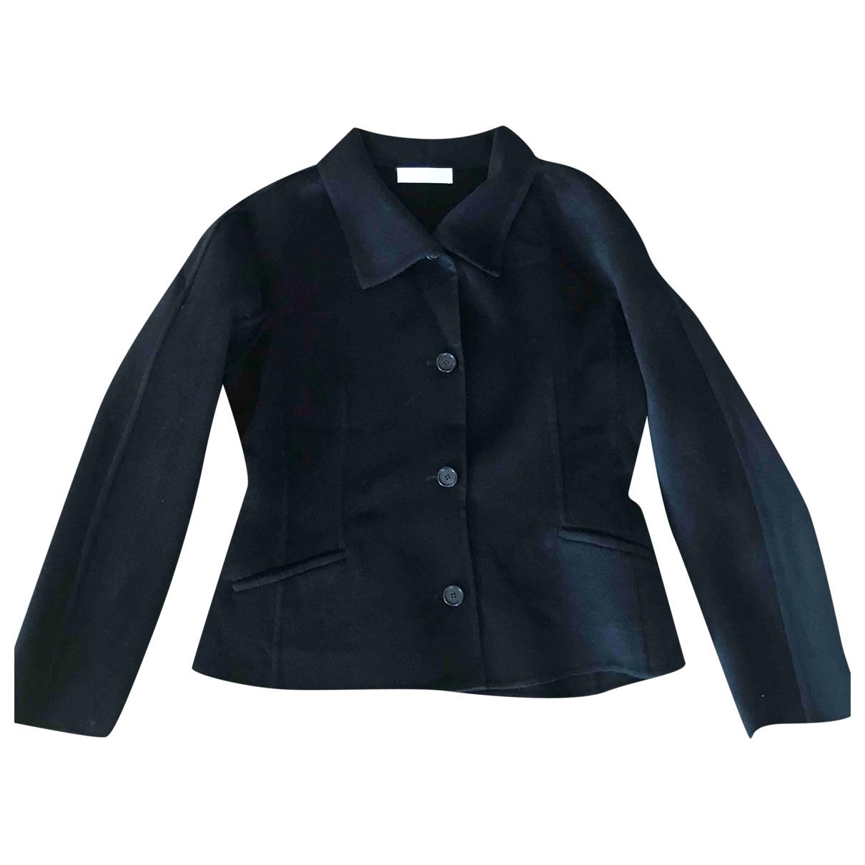 Nicole Farhi - Veste   pour femme en laine - noir