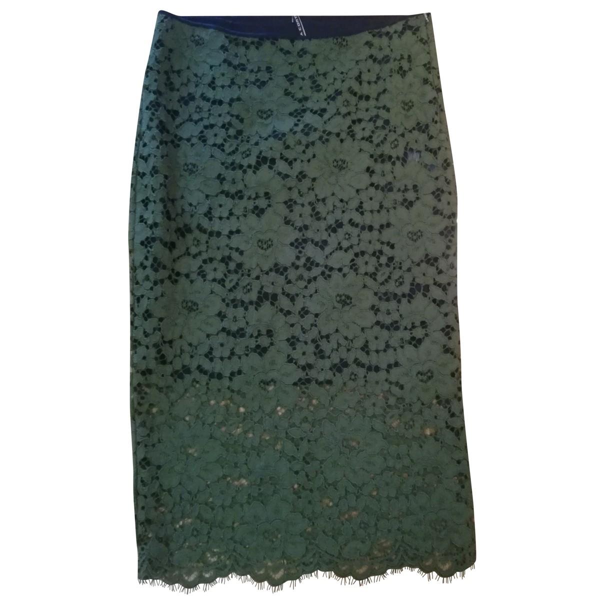 Liviana Conti \N Yellow Cotton skirt for Women 44 IT