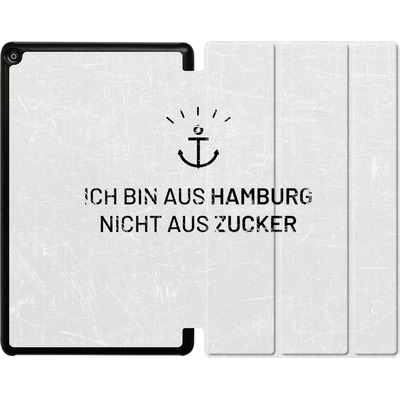 Amazon Fire HD 10 (2018) Tablet Smart Case - Ich Bin Aus Hamburg von caseable Designs