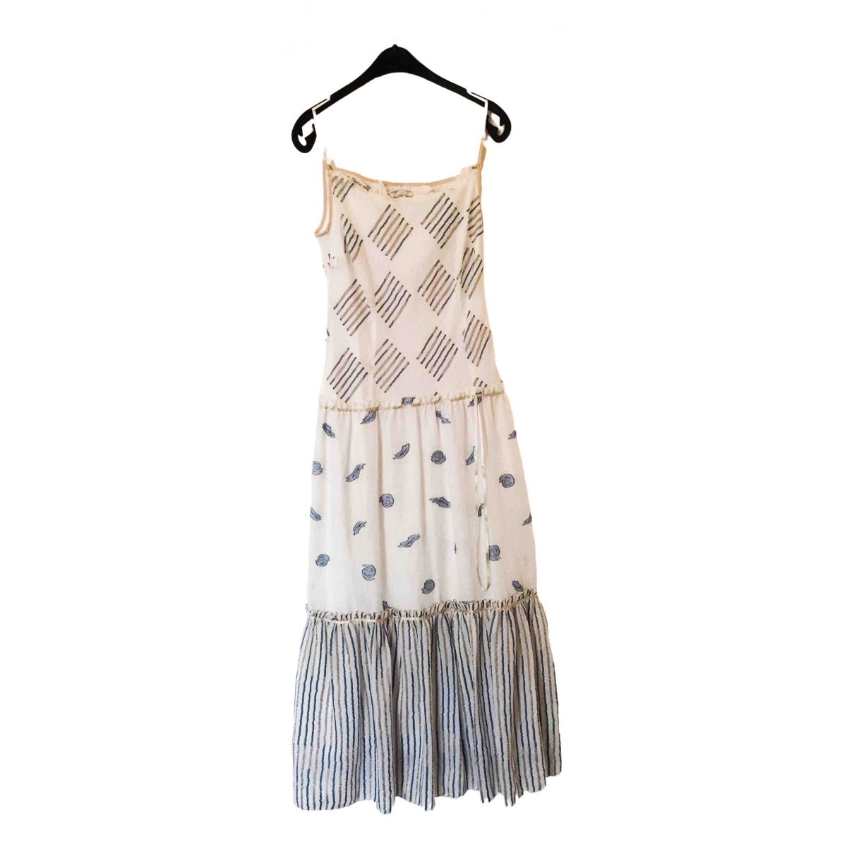 Non Signé / Unsigned \N White dress for Women 38 FR